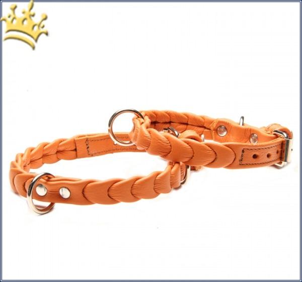 Hundehalsband Ascot Petit Orange