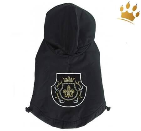 Hundemantel Royal Fleur Black