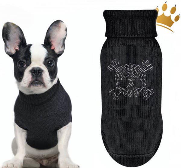 Milk & Pepper Hundepullover Wizzard Schwarz