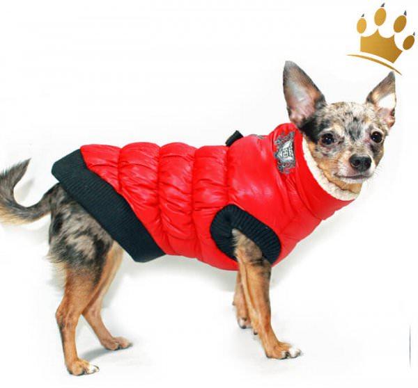 Hundeweste Chamonix Red
