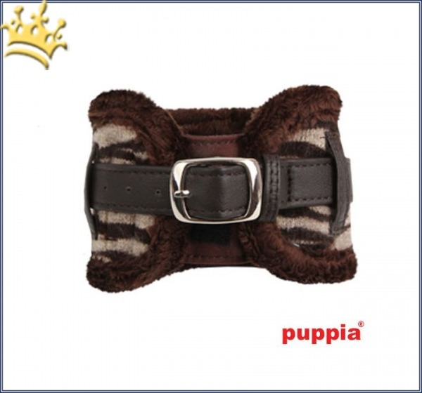 Puppia Hunde-Halsband Modern Zebra