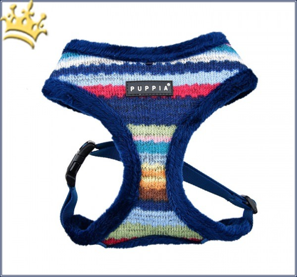 Puppia Hundegeschirr Soft Crayon Blau