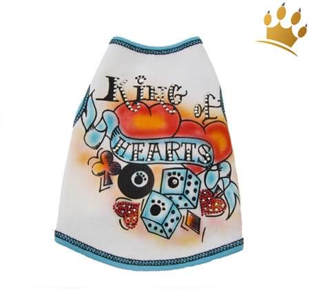 Hundeshirt King of Hearts