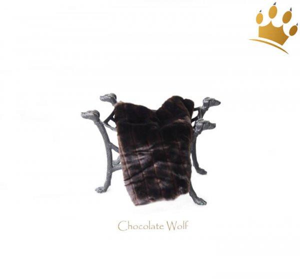 Kuscheldecke Blanket Chocolate Wolf