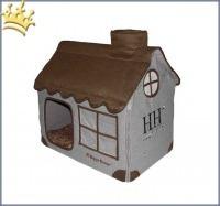 Hundehöhle Dog House Braun