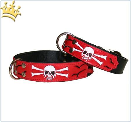Hundehalsband Pirat Skull