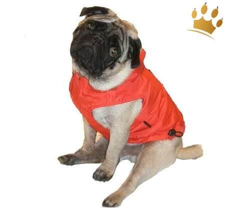 Hundemantel La Cruze Rot