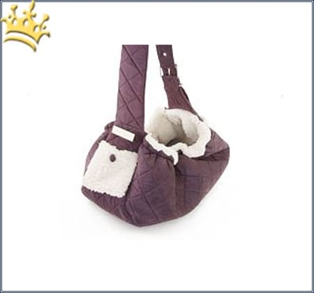 Hundetasche Quilted Sling Purple