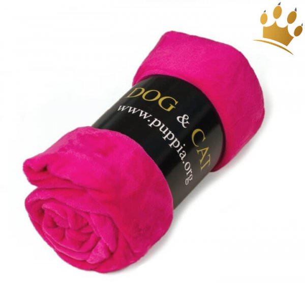 Hundefleecedecke Dog & Cat Pink