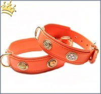 Hundehalsband Ibiza 80 Orange