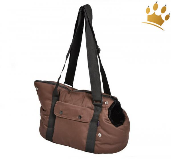 Hundetasche Two in One Moelleux Braun