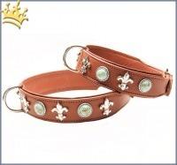 Hundehalsband Diakira Deluxe Braun