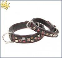 Malucchi Hundehalsband GhiBli Schwarz