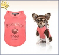 Milk & Pepper Hunde-T-Shirt Princess of Love