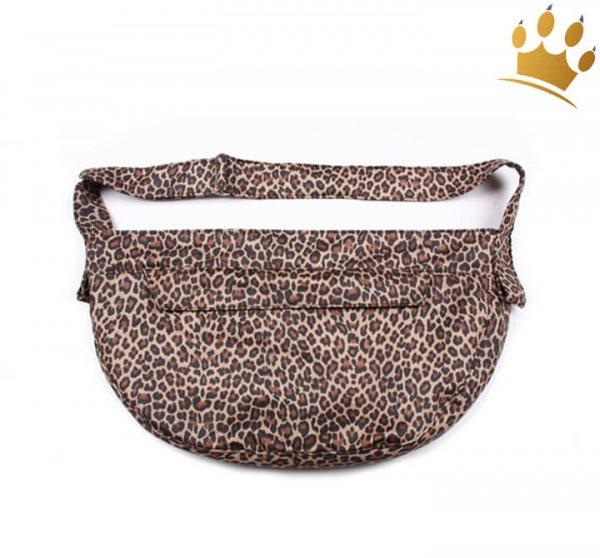 Hundetasche Cuddle Faux Leopard