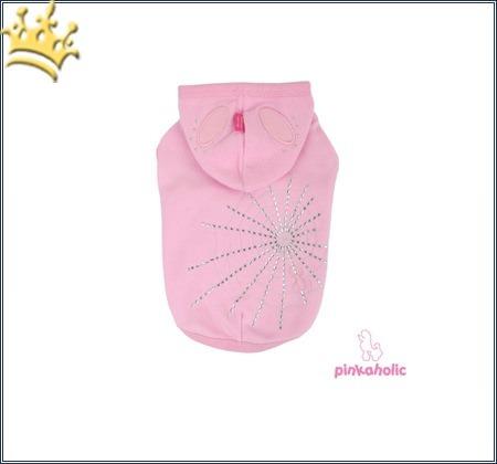 Hundefleecepullover Spider Pup pink