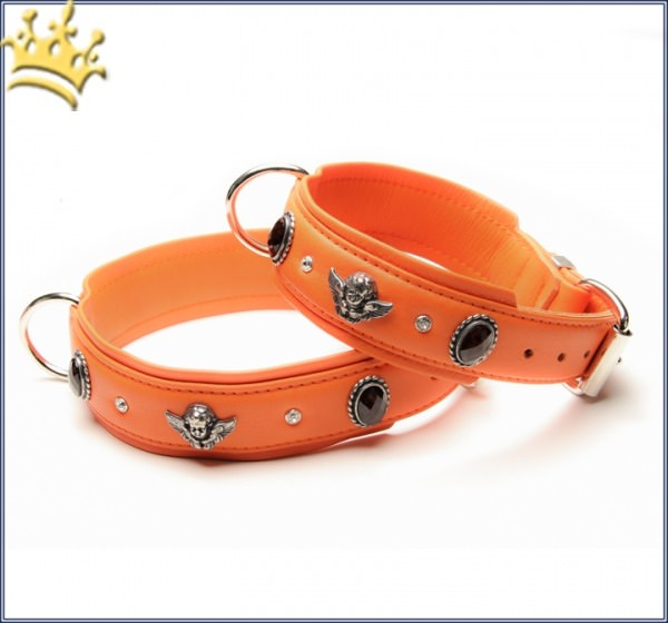 Hundehalsband Bella Angelo Orange