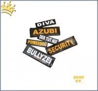 Logos Powergeschirr Julius-K9® weiß
