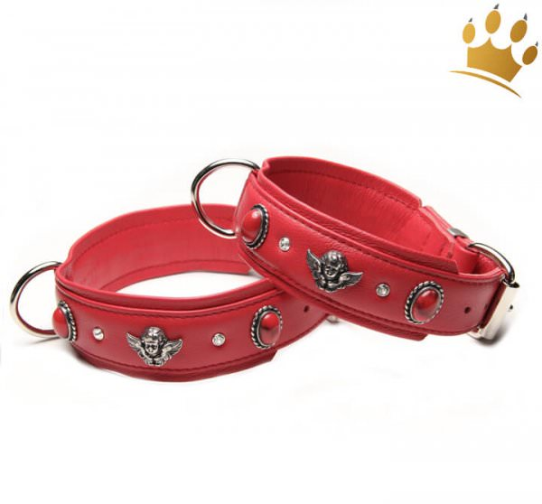 Hundehalsband Bella Angelo Fire Red