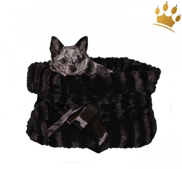 Hundetasche Snuggle Bug Black