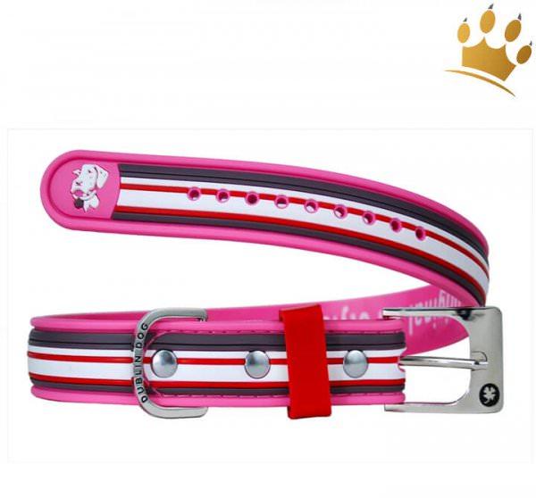 Schwimmhalsband Stripe Pink