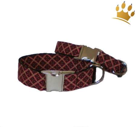 Hundehalsband Louise Red