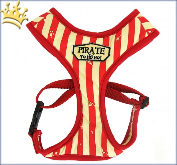 Softgeschirr Vintage Pirate Red