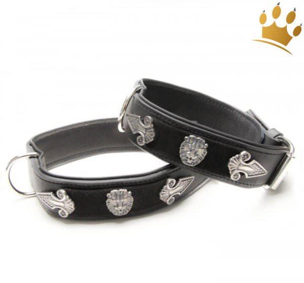 Hundehalsband Lion Selvaggio Black