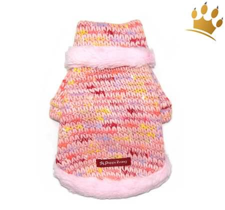 Hundepullover Snow Pink