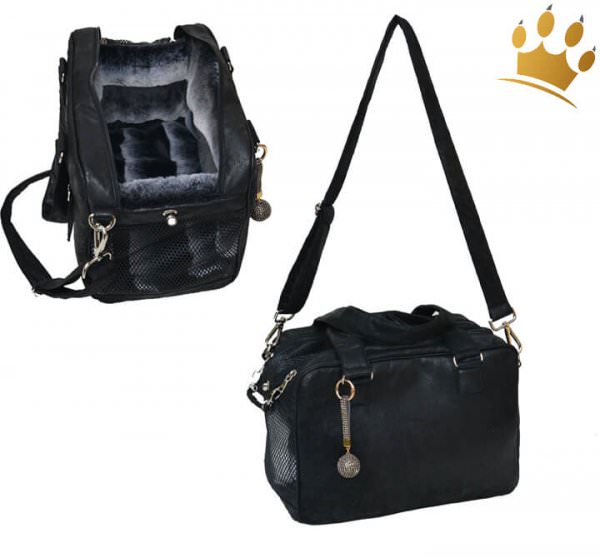 Hundetasche St. Tropez Limited Edition Schwarz